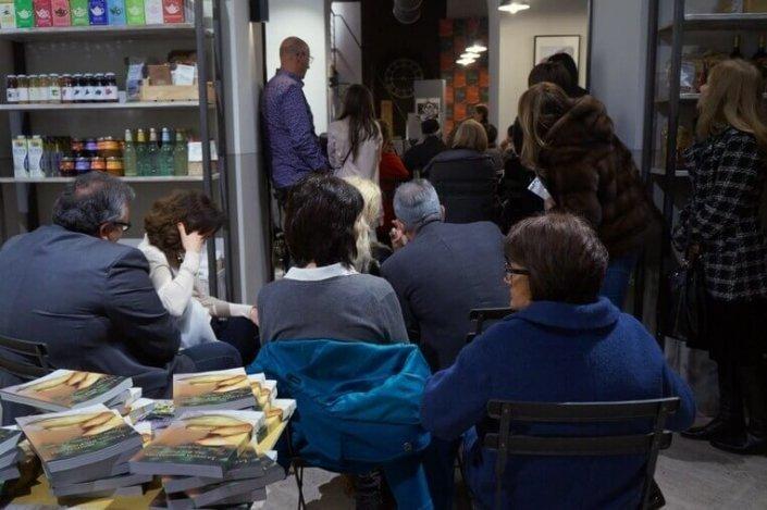 Presentazione libro con degustazione ristorante MioBio Terni - marzo 2017