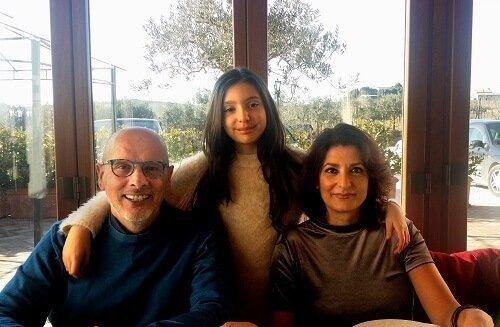 Fabiola e la sua famiglia