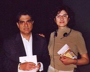Deepak Chopra e Fabiola Dessì (2000)